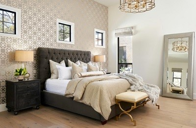 Wall Art: Wallpaper Accents in Small Doses