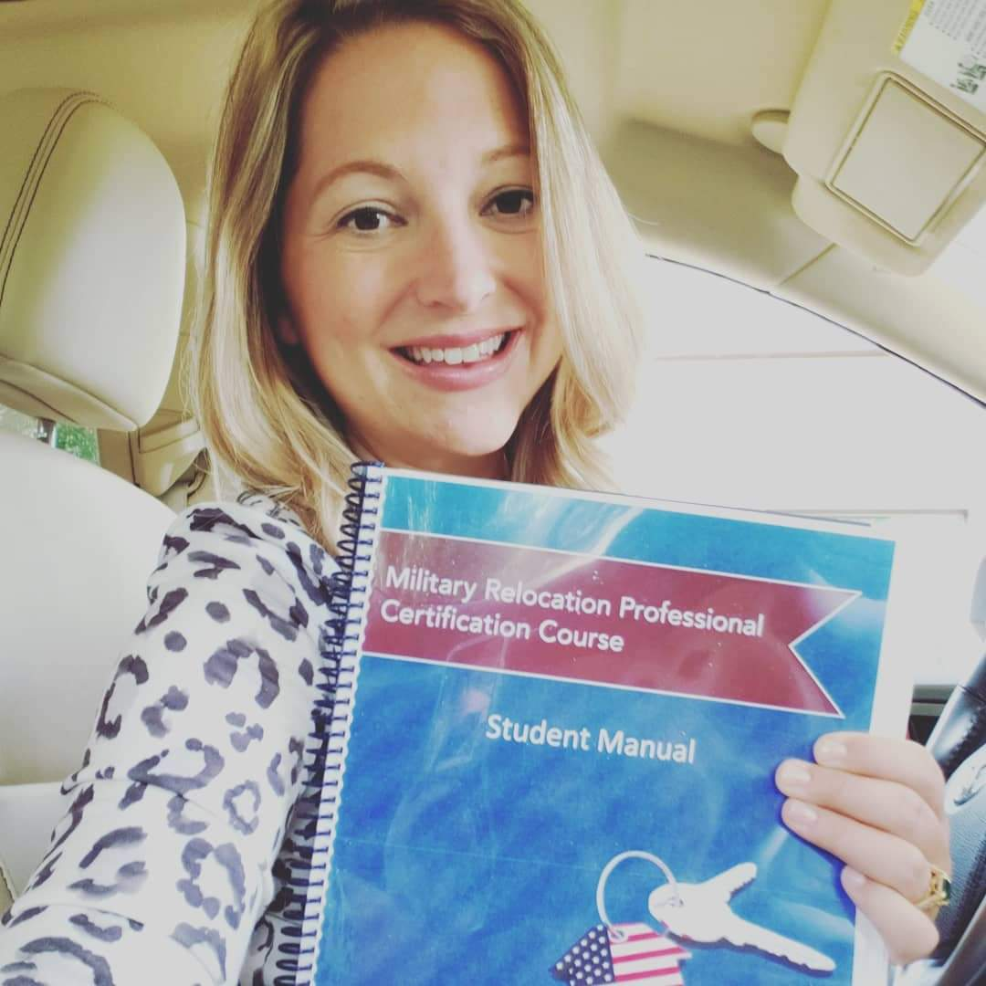 Jessica Lipscomb, Broker, holds her Military Relocation Professional (MRP) Designation from the National Association of REALTORS®