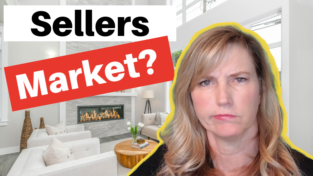 What is a SELLERS market?
