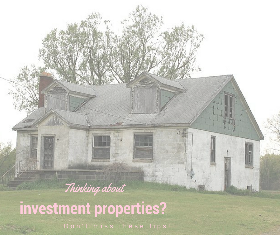 4 Things to Look for in Investment Properties! - Ginger & Co