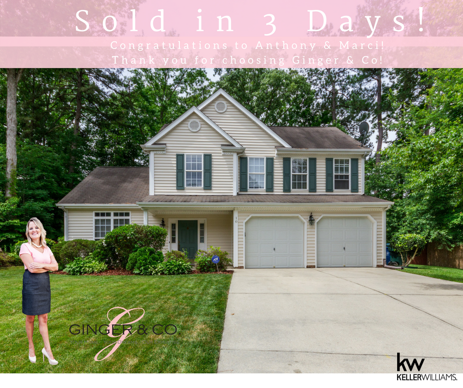 Sold in 3 Days! - Ginger & Co.