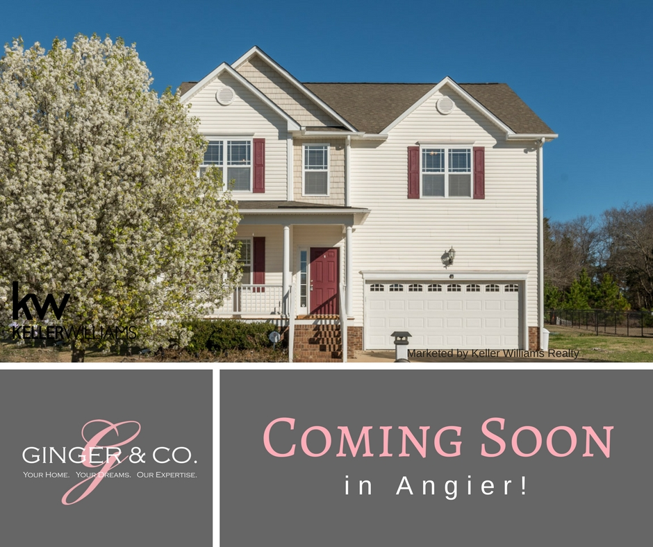 Coming Soon in Angier! - Ginger & Co