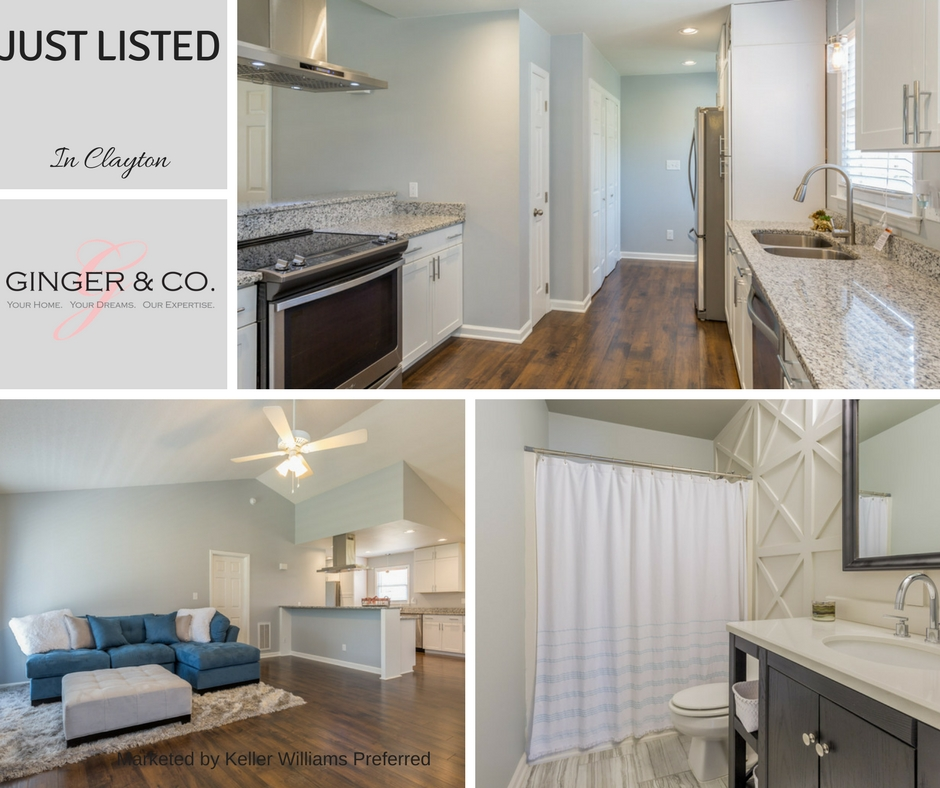 Just Listed in Clayton Open House Saturday