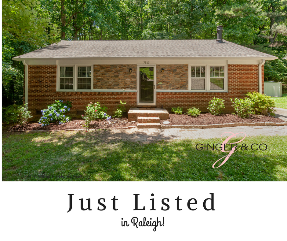 Just Listed in Raleigh! - Ginger & Co.