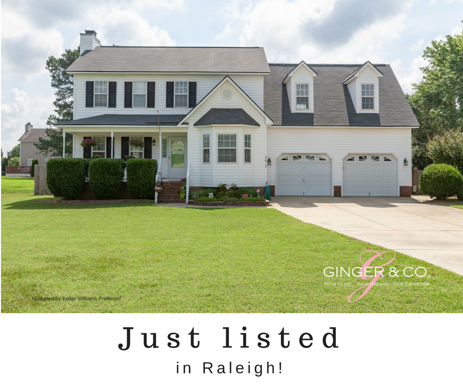 Just Listed! Charming 3 bedroom in Raleigh! - Ginger & Co