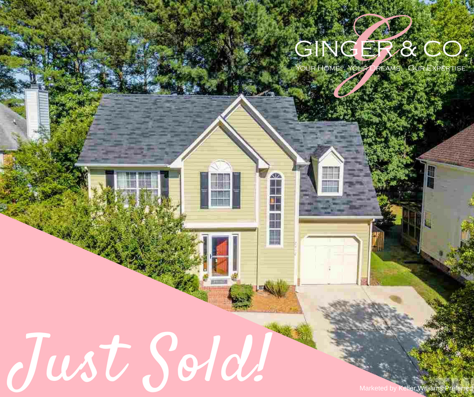 Just Sold! Congrats Chris & Shaina! - Ginger & Co.