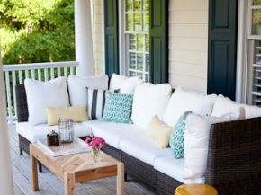 Tips for creating a living space outdoors