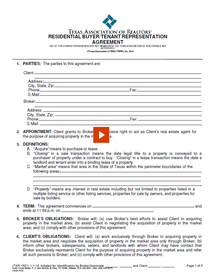 Related Blank Documents For Buyers