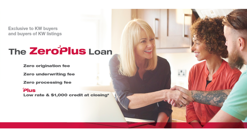 Keller Williams Zer-Plus Financing