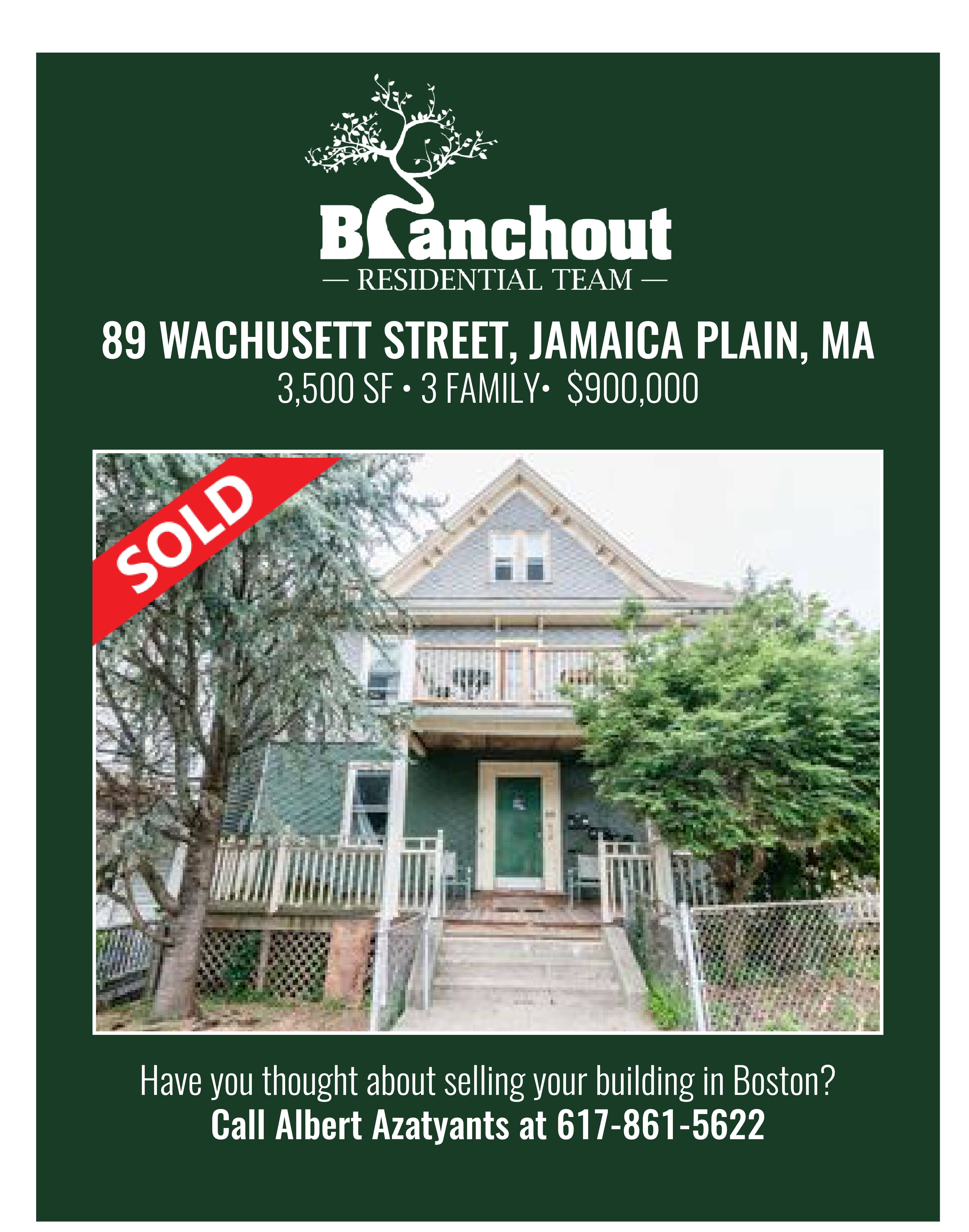 Recently sold in Greater Boston