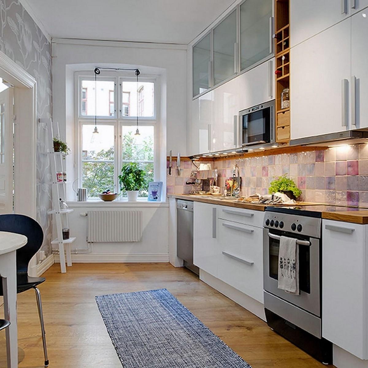 Open kitchen in home