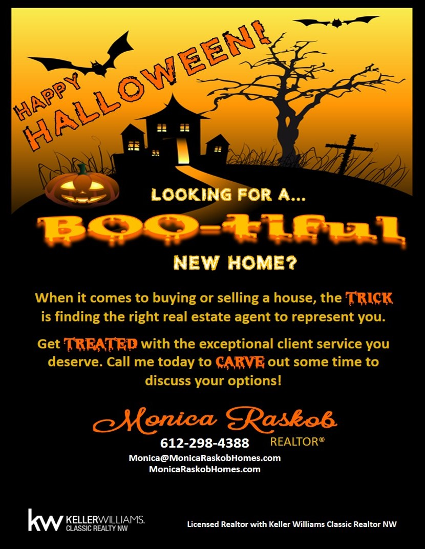Happy Halloween Monica Raskob Homes Real Estate Group Copy