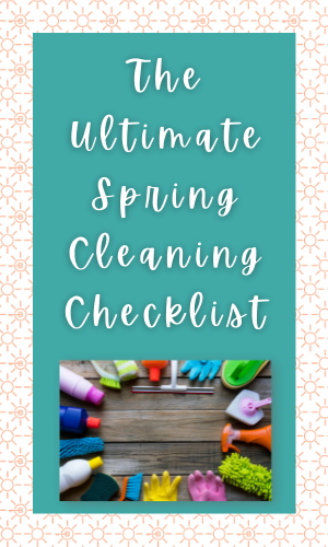 RE TIP FROM A PRO: The Ultimate Spring Cleaning Checklist