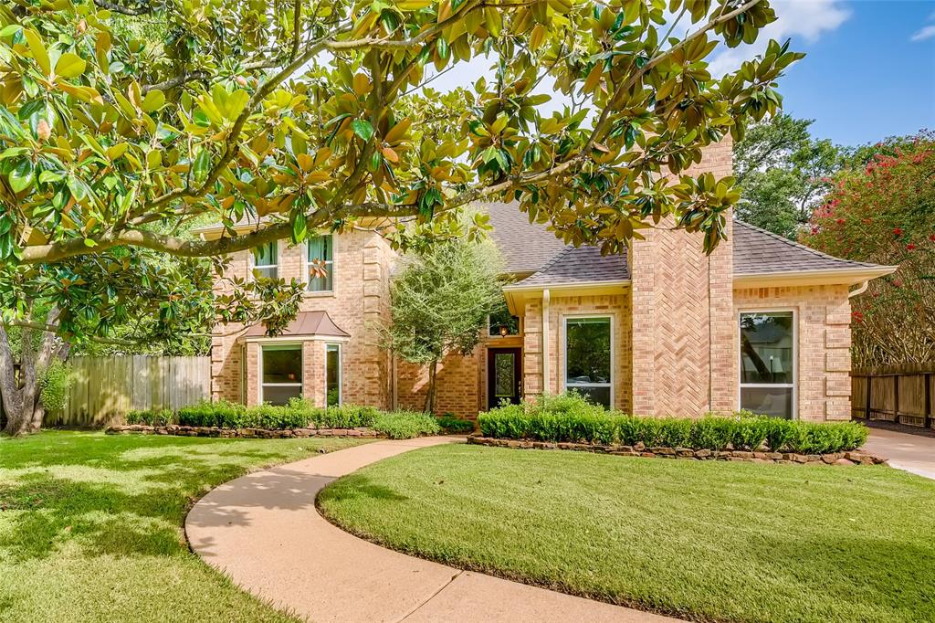 JUST SOLD in Memorial Villages! 8851 Merlin Offered at $889,000.