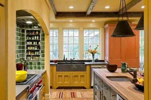 Bold backsplashes make a kitchen pop