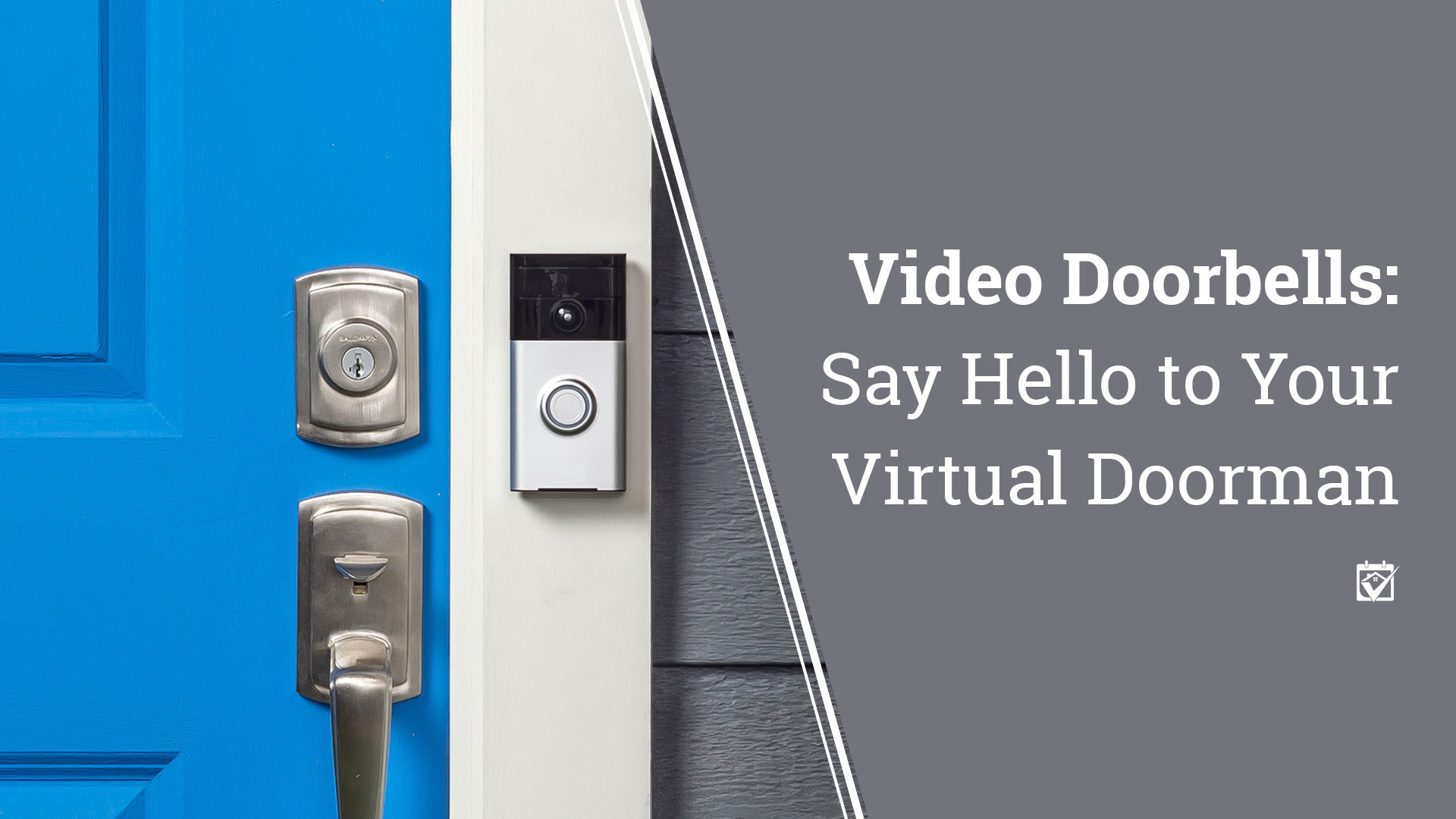 Video Doorbell hanging next to door - click to read full story
