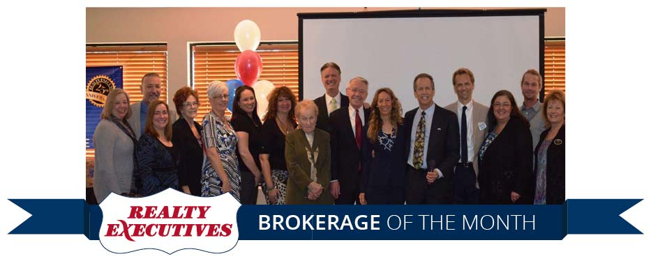Realty Executives Santa Clarita - Brokerage of the Month
