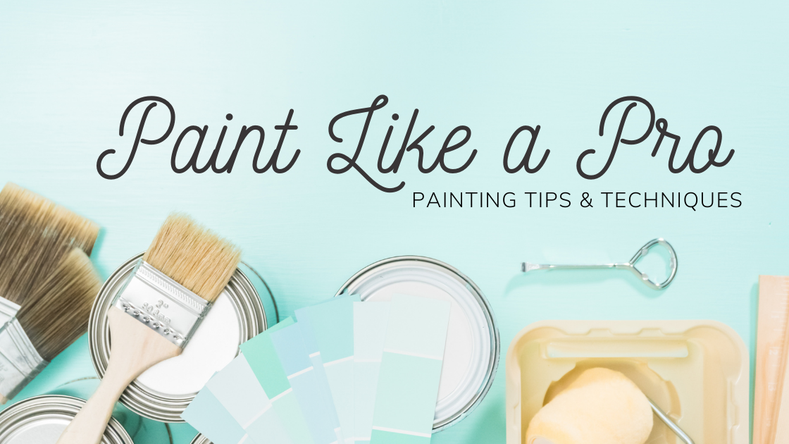 How to Paint Like a Pro