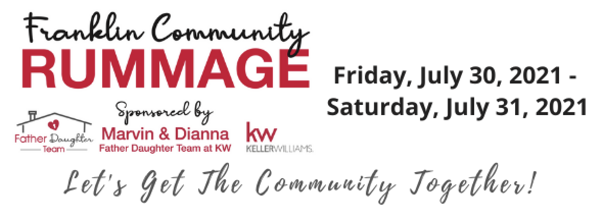 2nd Annual Franklin Community Rummage