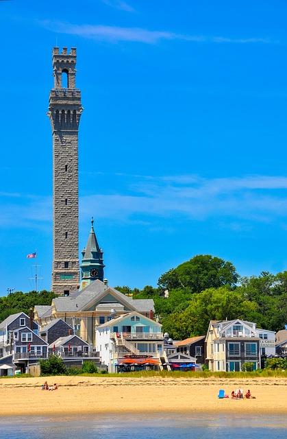 Pilgrim Monument in Provincetown Cape Cod