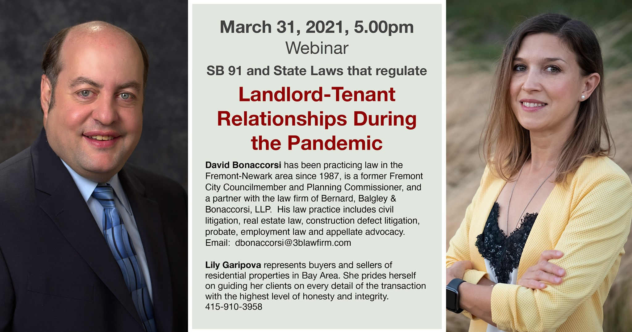 Landlord-Tenant Relationships During the Pandemic (Live Event)