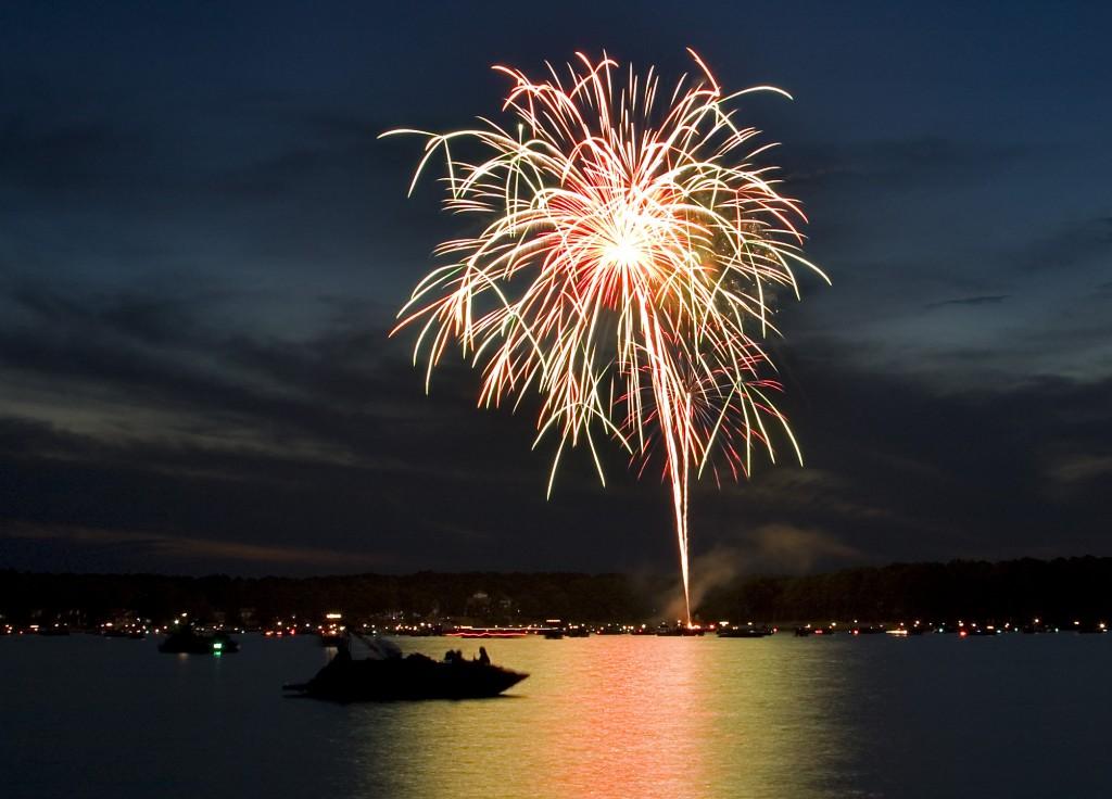 Resultado de imagen de fireworks lake