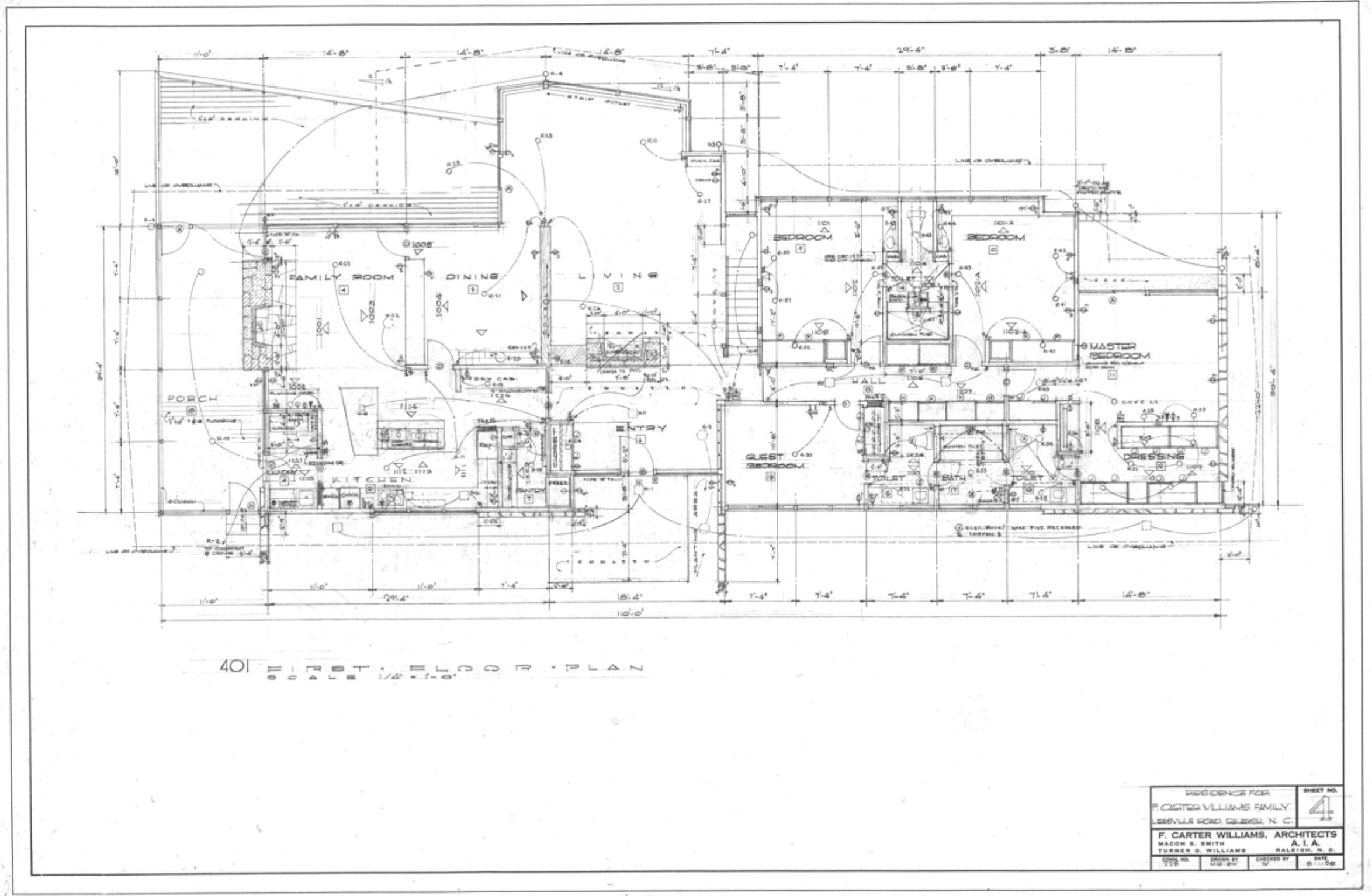 First Floor ORIGINAL Plan