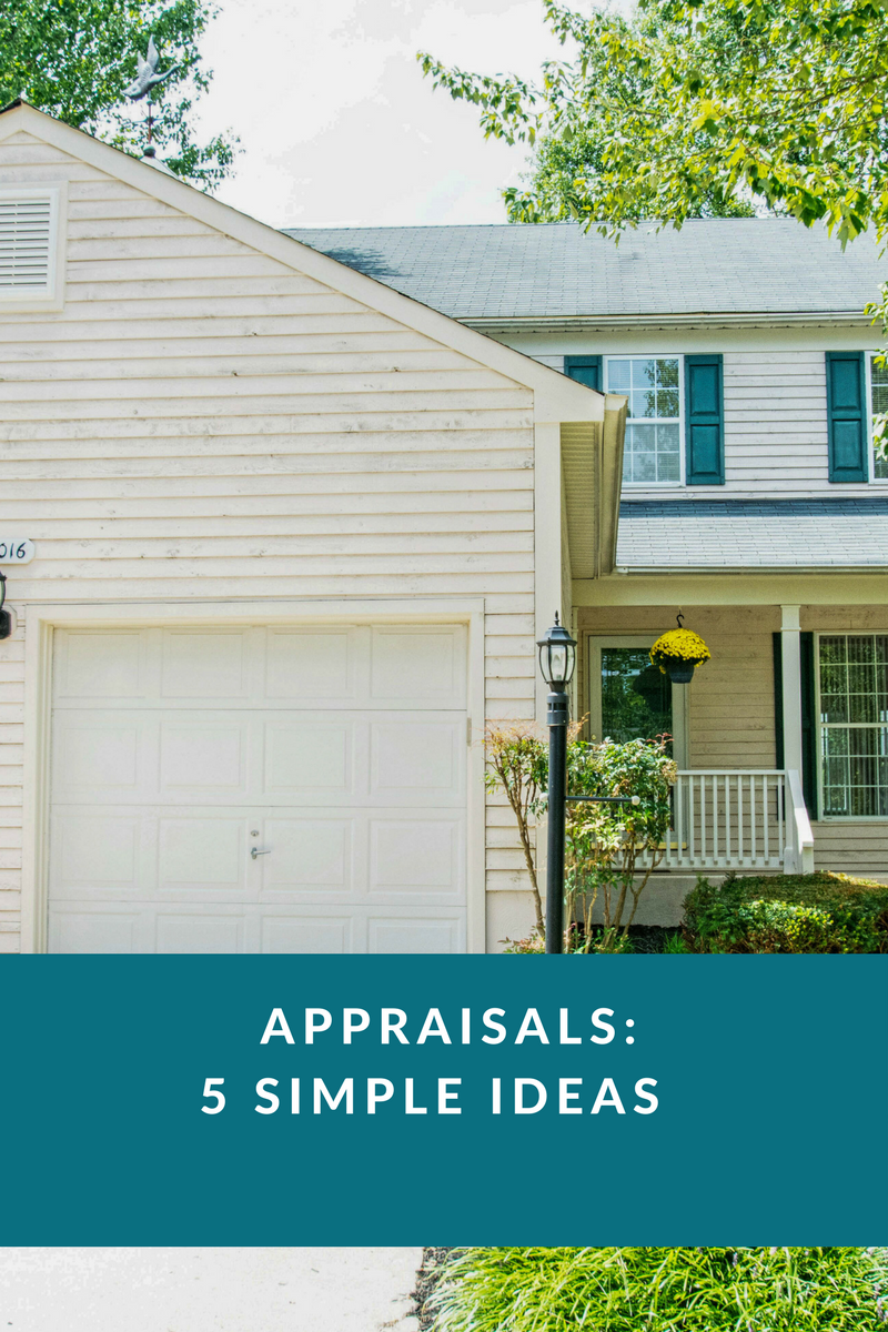 5 Simple Ideas Appraisal Eileen Robbins of Long & Foster Real Estate