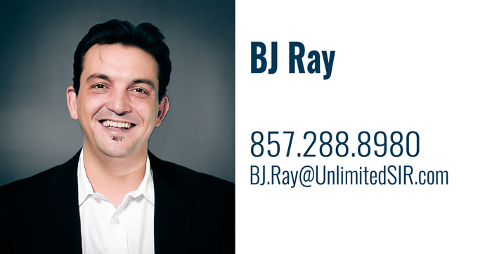 BJ Ray - cell: 857.288.8980