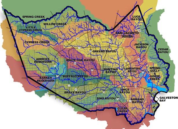 Houston Flood Zone