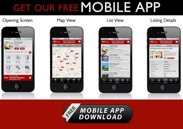 Search for homes on the go with Keller Williams Mobile App | Laura Smith, 903-874-2788